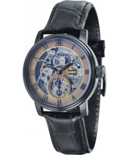 Thomas Earnshaw ES-8041-06 Mens Westminster Black Crock Leather Strap Watch