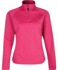 Dare2b DWL022-1Z020L Ladies Loveline II Core Electric Pink Stretch Midlayer - Size UK 20 (XXXL)