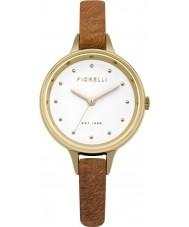 Fiorelli FO026TG Ladies Tan Pony Fur Leather Strap Watch