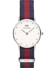 Daniel Wellington DW00100072 Ladies Classy Oxford 26mm Silver Watch