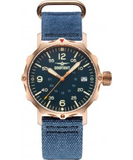 Dogfight DF0064 Mens Ace Blue Nylon Strap Watch