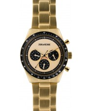 Zadig and Voltaire ZVM129 Master Gold Plated Chronograph Watch