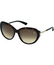Swarovski Ladies Dark Tortoiseshell SK0067 Destiny Sunglasses