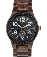 WeWOOD KARDOCHOCWHITE Kardo Choco Wood Bracelet Watch