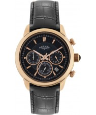 Rotary GS02879-04 Mens Timepieces Monaco Black Chronograph Watch