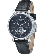 Thomas Earnshaw ES-8046-01 Mens Grand Calender Black Leather Strap Watch