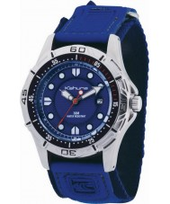 Kahuna K5V-0001G Mens Blue Velcro Watch