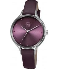 Zoom ZM-3837L-2513 Ladies Pure Purple Watch