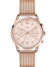 Henry London HL39-CM-0168 Ladies Shoreditch Pale Rose Gold Chronograph Watch