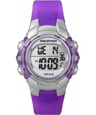 Timex T5K816 Kids Marathon Purple Resin Strap Watch