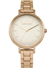 Karen Millen KM126RGM Ladies Rose Gold Plated Bracelet Watch
