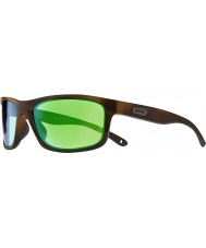 Revo RE4071 Harness Dark Tortoiseshell - Green Water Polarized Sunglasses