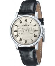 Thomas Earnshaw ES-8036-02 Mens Flinders Black Leather Multifunctional Watch