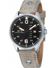 AVI-8 AV-4003-03 Mens Hawker Harrier II Light Camel Leather Strap Watch