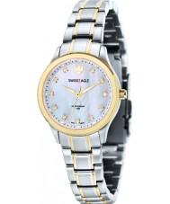 Swiss Eagle SE-6047-66 Ladies Field Akilina Silver Steel Bracelet Watch