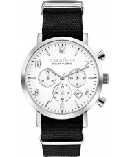 Caravelle New York 43B137 Mens Jasper Black Chronograph Watch