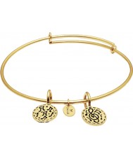 Chrysalis Festival 14ct Gold Plated Expandable Bangle