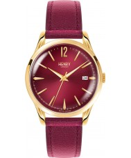Henry London HL39-S-0066 Ladies Holborn Burgundy Watch