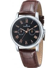 Thomas Earnshaw ES-8036-03 Mens Flinders Brown Leather Multifunctional Watch