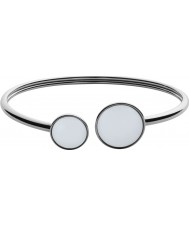 Skagen SKJ0788040 Ladies Sea Glass Silver Steel Polished Bracelet