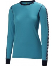 Helly Hansen 27992-570IBL-L Ladies Dry Ice Blue 2 Pack Baselayer - Size L