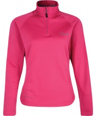 Dare2b Ladies Loveline II Electric Pink Core Stretch Midlayer