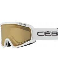Cebe CBG101 Fanatic M White - NXT Variochrom Perfo 1-3 Ski Goggles