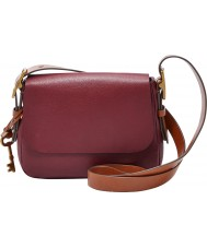 Fossil ZB6759609 Ladies Harper Wine Small Cross Body Bag