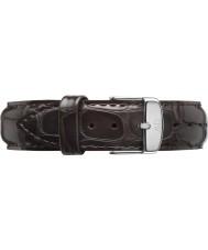 Daniel Wellington DW00200097 Dapper 17mm York Silver Spare Strap