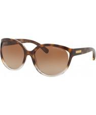 Michael Kors MK6036 60 Mitzi II Tortoiseshell Shaded 312513 Brown Gradient Sunglasses