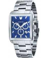 Swiss Eagle SE-9050-22 Mens Arnkell Silver Chronograph Watch