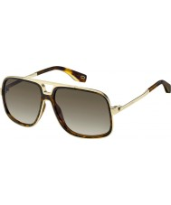 Marc Jacobs Ladies MARC 265 S 086 HA 60 Sunglasses