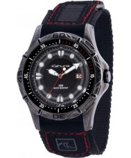 Kahuna K5V-0002G Mens Black Velcro Watch