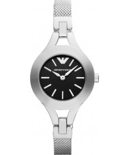 Emporio Armani AR7328 Ladies Black and Silver Dress Watch