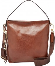 Fossil ZB6979200 Ladies Maya Brown Small Hobo Bag