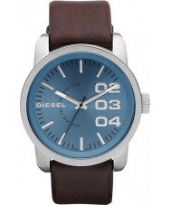 Diesel DZ1512 Mens Double Down Blue Brown Watch