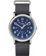 Timex Originals TW2P65700 Weekender Ripstop Grey Nylon Strap Watch