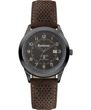 Barbour BB017GNBR Mens Walker Brown Leather Strap Watch
