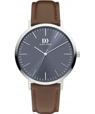 Danish Design Q22Q1159 Mens Brown Leather Strap Watch