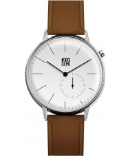 Zoom ZM-3846M-2501 Mens Pure White Brown Watch