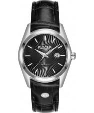 Roamer 203844-41-55-02 Ladies Searock Black Leather Strap Watch