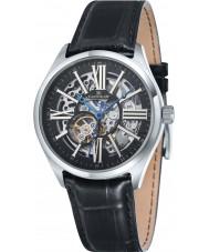 Thomas Earnshaw ES-8037-01 Mens Armagh Black Croco Leather Strap Watch