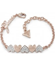 Guess UBB85102-L Ladies Heart Bouquet Bracelet