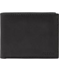 Fossil ML3589001 Mens Nova Black Passcase Wallet