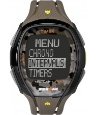 Timex TW5M01100 Ironman 150-Lap Full Size Sleek Camo Resin Strap Chronograph Watch