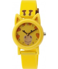 Tikkers TK0086 Kids Yellow Silicone Giraffe Watch