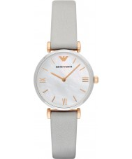 Emporio Armani AR1965 Ladies Dress Grey Leather Strap Watch