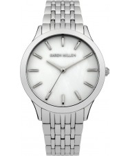 Karen Millen KM106SMA Ladies Silver Steel Bracelet Watch