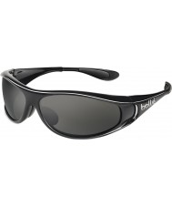 Bolle Spiral Shiny Black Polarized TNS Sunglasses