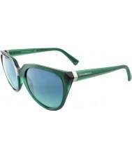 Emporio Armani EA4027 57 Essential Leisure Petroleum 52014S Sunglasses